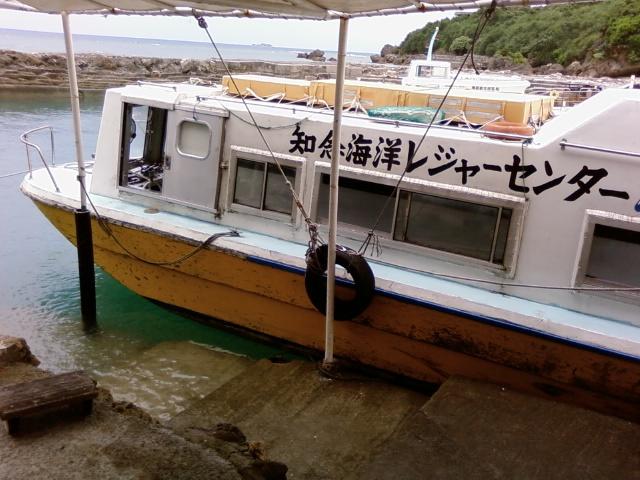グラスボートで海の底を