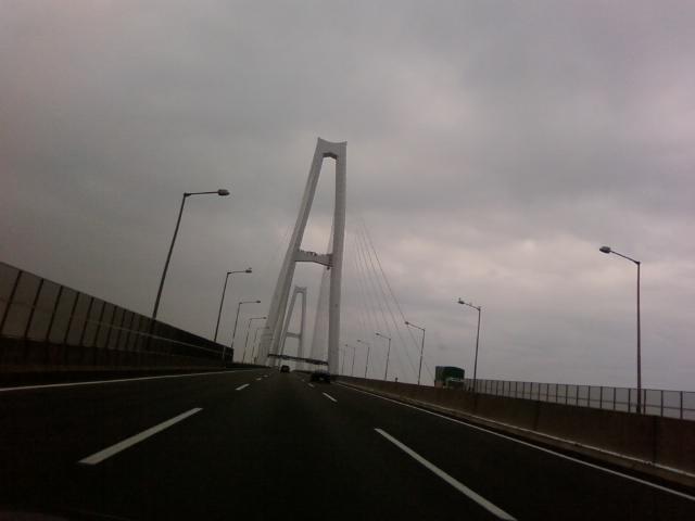大阪へ移動中